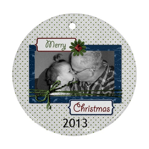 2012 Ornament 4 By Martha Meier   Ornament (round)   5tv2lt33epmu   Www Artscow Com Front