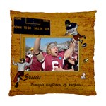 Football Cushion Case (one side) -1 - Standard Cushion Case (One Side)