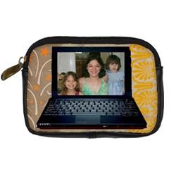 Laptop Digital Cameraq Case By Kim Blair   Digital Camera Leather Case   0w4tpi71568u   Www Artscow Com Front