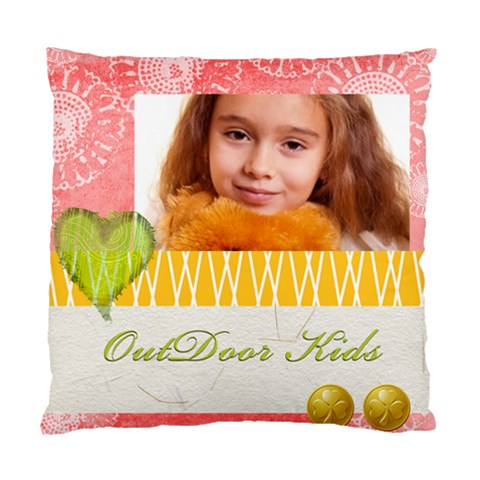 Kids By Joely   Standard Cushion Case (one Side)   G3q35vvk4pdp   Www Artscow Com Front