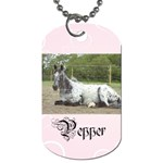 Pepper tags - Dog Tag (Two Sides)