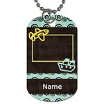 When Spring Comes Boy Dog Tag - Dog Tag (One Side)