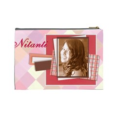 Nitanti By Kavita   Cosmetic Bag (large)   Gcehpv3pt3j5   Www Artscow Com Back