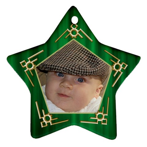My Star Ornament By Deborah   Ornament (star)   Qtn2bols0usl   Www Artscow Com Front