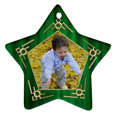My Star Ornament (2 Sided) By Deborah   Star Ornament (two Sides)   5boirpx1xh3a   Www Artscow Com Front