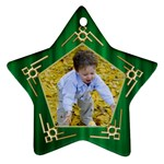 My Star Ornament (2 sided) - Star Ornament (Two Sides)