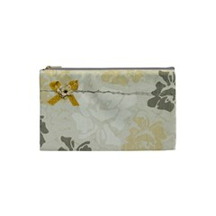 Cosmetic Bag Complicity By Deca   Cosmetic Bag (small)   3fc8ttum0fq9   Www Artscow Com Front