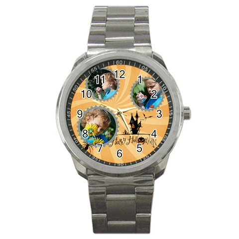 Halloween By M Jan   Sport Metal Watch   N8al4jp301j8   Www Artscow Com Front