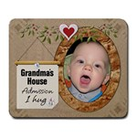 Grandmas House Large Mousepad