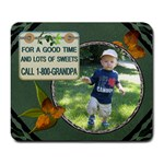 Call Grandpa Large Mousepad