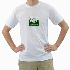 Splotter T Shirt By Kevin Mccurdy   Men s T Shirt (white) (two Sided)   P7x121l7vn46   Www Artscow Com Front