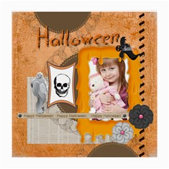 Halloween By Jo Jo   Medium Glasses Cloth (2 Sides)   8lpf8i5ajv1l   Www Artscow Com Front