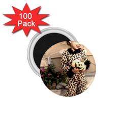 Trick Or Treat Baby 100 Pack Small Magnet (round)