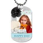 happy time - Dog Tag (One Side)