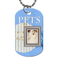 Pet By Joely   Dog Tag (two Sides)   578fwo2q6ehg   Www Artscow Com Back