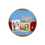 superstar - Rubber Coaster (Round)