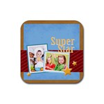 superstar - Rubber Coaster (Square)