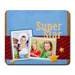 superstar - Large Mousepad