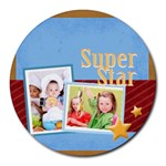 superstar - Round Mousepad