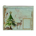 All is Calm Extra Large Cosmetic Bag - Cosmetic Bag (XL)