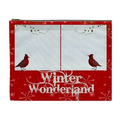 Cardinals Extra Large Cosmetic Bag By Catvinnat   Cosmetic Bag (xl)   97ly4vgs2ms9   Www Artscow Com Front
