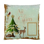 All is Calm Single Sided Pillow Case - Cushion Case (One Side)