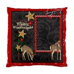 Winter Wonderland Single Sided Pillow Case - Cushion Case (One Side)