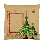 Snowy Trees Single Sided Pillow Case - Standard Cushion Case (One Side)
