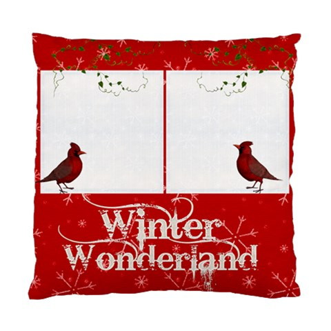 Cardinals Single Sided Pillow Case By Catvinnat   Standard Cushion Case (one Side)   K55a4a62pyup   Www Artscow Com Front