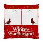 Cardinals Single Sided Pillow Case - Standard Cushion Case (One Side)