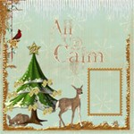 Winter Wonderland 12 x 12 Scrapbook Pages - ScrapBook Page 12  x 12