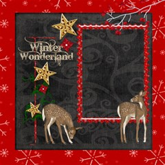 Winter Wonderland 8 X 8 Scrapbook Pages By Catvinnat   Scrapbook Page 8  X 8    Fp6vica3jvb7   Www Artscow Com 8 x8 Scrapbook Page - 2