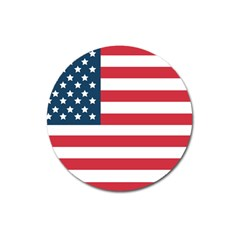 Flag Large Sticker Magnet (round) by tammystotesandtreasures