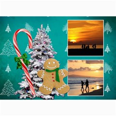Simply Christmas Vol1   5x7 Photo Cards  By Picklestar Scraps   5  X 7  Photo Cards   A9elkoz5rckg   Www Artscow Com 7 x5 Photo Card - 2