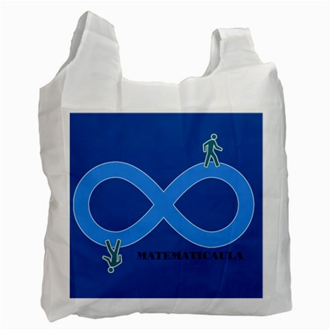 Bolsa Infinito By Matematicaula   Recycle Bag (one Side)   0i1fti229irh   Www Artscow Com Front