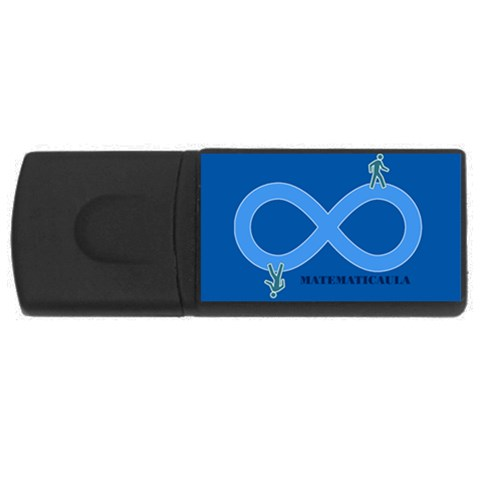 Pendrive Infinito By Matematicaula   Usb Flash Drive Rectangular (1 Gb)   Yk08l8xv3h2j   Www Artscow Com Front