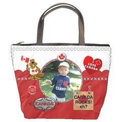 Canada Bucket Bag By Lil    Bucket Bag   O2vnv7b2h5gk   Www Artscow Com Front