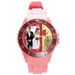 chinese wedding - Round Plastic Sport Watch Large