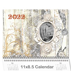 Weathered Floral 2015 Calendar By Catvinnat   Wall Calendar 11  X 8 5  (12 Months)   10ewmlhdhlzy   Www Artscow Com Cover