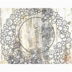 Weathered Floral 2015 Calendar By Catvinnat   Wall Calendar 11  X 8 5  (12 Months)   10ewmlhdhlzy   Www Artscow Com Month