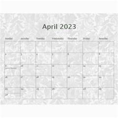 Weathered Floral 2015 Calendar By Catvinnat   Wall Calendar 11  X 8 5  (12 Months)   10ewmlhdhlzy   Www Artscow Com Apr 2015