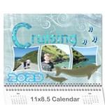 Cruising Marina 12 month Calendar 2015 - Wall Calendar 11  x 8.5  (12-Months)