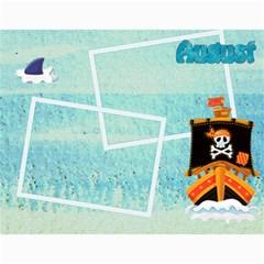 Pirate Pete 2015 Calendar By Catvinnat   Wall Calendar 11  X 8 5  (12 Months)   A9np5o4emdw1   Www Artscow Com Month