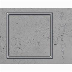 Simple Silver 2015 Calendar By Catvinnat   Wall Calendar 11  X 8 5  (12 Months)   Yt81ho7r1lfi   Www Artscow Com Month
