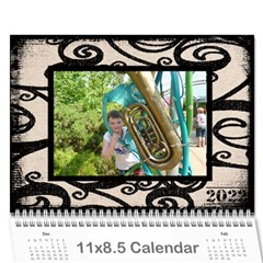 Fantasic Classic Neutral 2015 Calendar By Catvinnat   Wall Calendar 11  X 8 5  (12 Months)   Ycj4a5pfnhu3   Www Artscow Com Cover