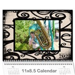 Fantasic Classic neutral 2013 calendar - Wall Calendar 11 x 8.5 (12-Months)