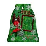Elf Remember When 2012 Bell Ornament - Ornament (Bell)