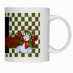 Christmas Clusters Mug 1 By Lisa Minor   White Mug   Rot7bdju9p6d   Www Artscow Com Right