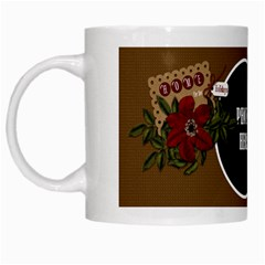 Christmas Clusters Mug 2 By Lisa Minor   White Mug   95x7hqjg0ib9   Www Artscow Com Left