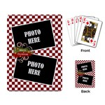 Christmas Clusters Playing Cards 2 - Playing Cards Single Design